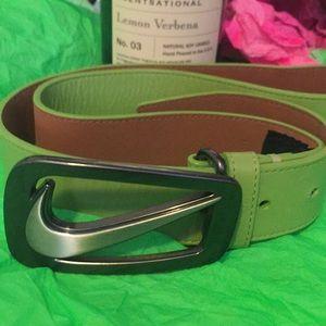 Nike belt